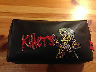 Iron Maiden - Killers - Pencil Case  2005- Official - Metal Band Merch - Used