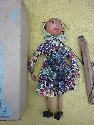 Vintage Puppet Gypsy 1940's /1950's boxed Pelham