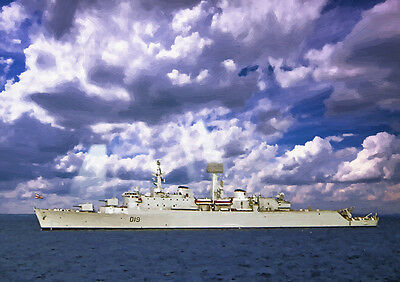 HMS Glamorgan - HAND FINISHED, LIMITED EDITION (25)