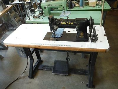 Singer 112W139 Double Needle Walking Foot Leather Upholstery Sewing Machine
