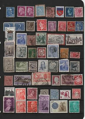 Europe stamp selection