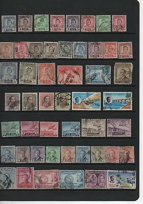 Iraq stamp selection King Faisal the Second