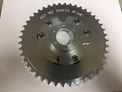Motorized Bicycle Rear Cnc 44T Sprocket And Disc Adapter