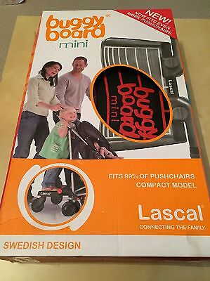 Lascal Buggy Mini Board With Connectors Original Packaging Ex  Condition