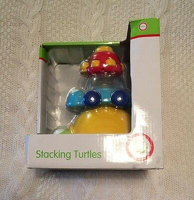 Buzzing Brains Musical Stacking Turtles Toy Xmas Bday Gift Age 18+ Months BNIB
