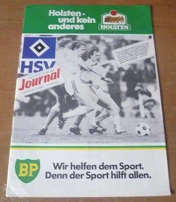 1982 - Hamburg v IFK Gothenburg, UEFA Cup Final Match Programme