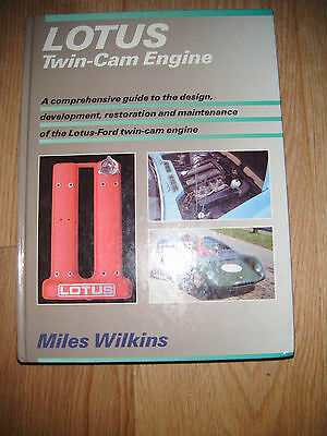 Lotus Twin-Cam Engine Book By Miles Wilkins. Hardback In Good Used Condition.