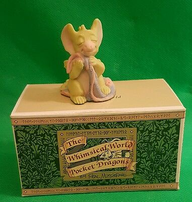 Whimsical Pocket Dragon Real Musgrave - A little security  DRAGON  1994 (c1)