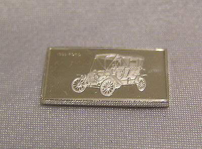 SOLID SILVER MINI INGOT of the FORD 1909