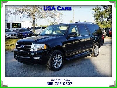 2016 Ford Expedition Limited 2016 Ford Expedition EL Limited 3.5L V6 TURBO  2WD SUV