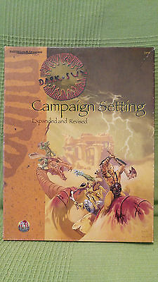 AD&D Dark Sun Campaign Setting Expanded and Revised
