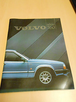 document publicitaire VOLVO série 760
