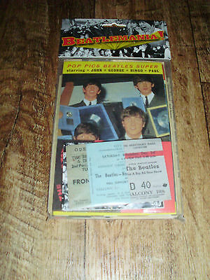 "The Beatles ""beatlemania!"" Replica Pack Tickets Fan Club Stuff Handbills Program"