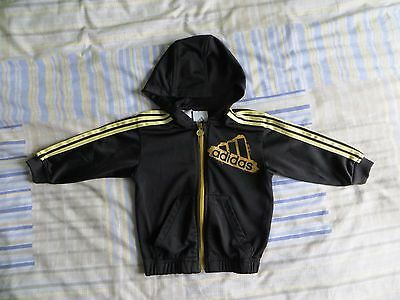 Adidas Zip Up Hoodie size 9-12 months