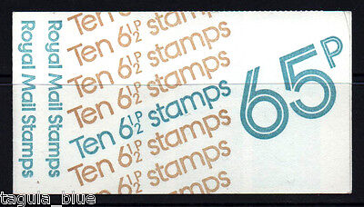 GB Stamps 1976 Folded Booklet FC1A