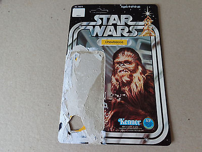 Kenner Star Wars vintage ORIGINAL KENNER Chewbacca Cardback