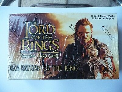 Lord Of The Rings TCG - The Return Of The King - Factory Sealed Booster Box - 36