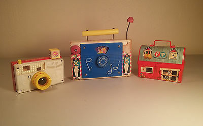 "Too Cool Vintage ""retired Edition"" 1967 Fisher-Price Picture Story Viewer Camera"
