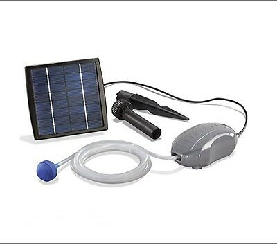 Solar Pond Pump Sun Power Garden Patio Pool Water Filter Air Fountain Oxygenetor