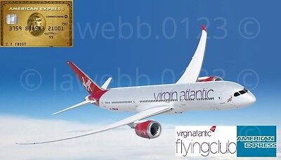 Amex American Express Gold Card Referral Code: Collect 28k Virgin Atlantic Miles