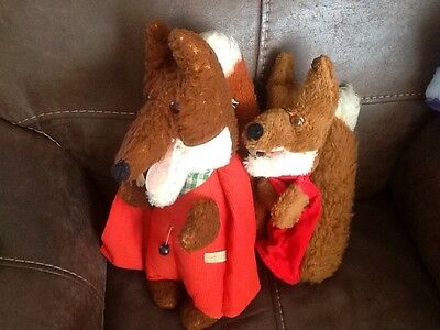 vintage wendy boston Basil brush talking toy and hand puppet