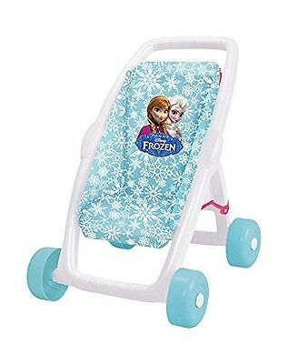 Frozen First Stroller By Smoby Toy Doll Buggy Pushchair