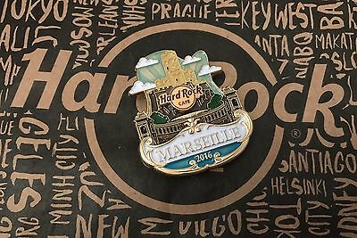 Hard Rock Cafe HRC MARSEILLE CITY ICON Lapel Pin Limited Edition SOLD OUT