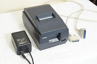 Epson M119D POS receipt printer with power supply and data cable