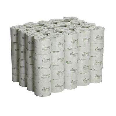 Georgia-Pacific Envision 19880/01 White 2-Ply Embossed Bathroom Tissue, 80 Rolls