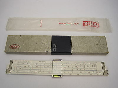 "Sun Hemmi Slide Rule No.266 10"" Electronics Duplex Japan"