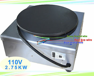 Commercial Electric Crepe Maker Machine Pancake Kitchen Maker