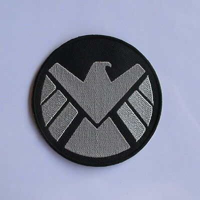 New AVENGERS MARVEL AGENTS OF SHIELD EMBROIDERED IRON ON PATCH T-SHIRT JACKET AA