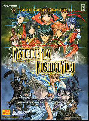 FUSHIGI YUGI / The Mysterious Play__Original 1998 Print AD promo__anime - manga