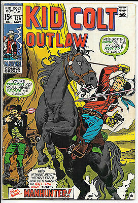 Kid Colt Outlaw # 146 Marvel May 1970