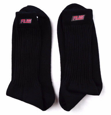 Rjs Racing Equipment Sfi 3.3 Black Large Racing Socks Underwear Nomex 800070105
