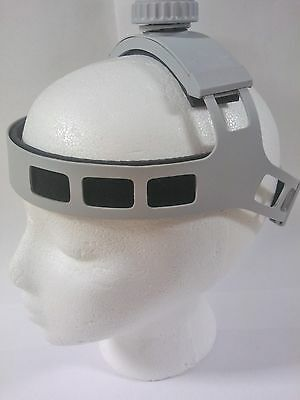 Surgical Head Band for LED Lights and Loupes