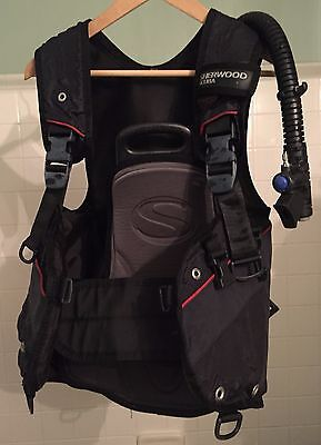 Sherwood Silhouette Buoyancy Compensation Device (BCD) Scuba Diving System SMALL