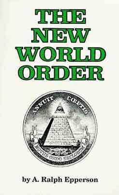 The New World Order by A. Ralph Epperson Paperback Book English