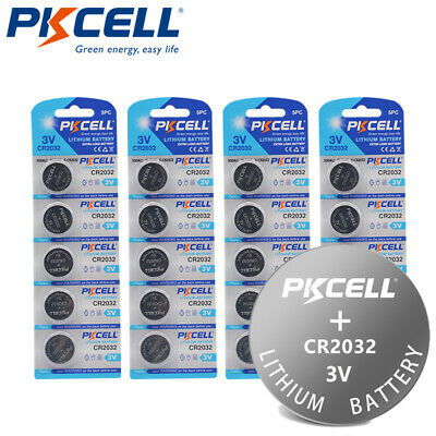 10pc CR2032 5004LC DL2032 ECR2032 3V Lithium Coin Cell for LED Tea Light Candles