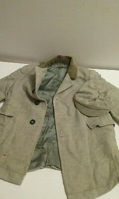 boys vintage jacket with hat C1950, great for photo shoot