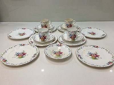 Shelley- Fine English Bone China - Hampton Court Pattern #11427