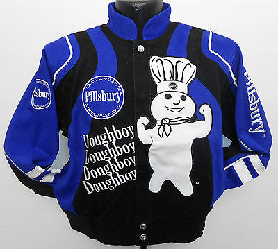 Pillsbury Doughboy Jacket Youth Xs Cotton Twill By General Mills Cartoon  New
