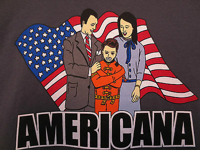 The Offspring Americana Tour Shirt Punk Rock And Roll Xl By Giant Smash Lxnay