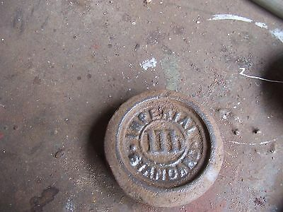 Antique Scale Weights