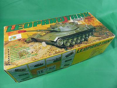 alter RC Kampfpanzer Leopard 1 Hong Kong 1970er Jahre in Box
