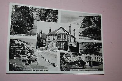 Early 1900's Real Photograph Westhaven Guesthouse And Bournemouth Pavilion Etc