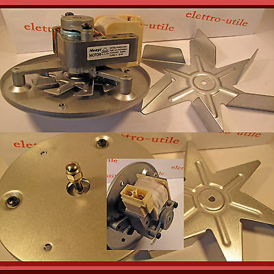Motore Per Forno con Ventola Universale Fan Oven Motor With Blade for Cookers