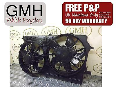 Ford Focus 1.6 Petrol Engine Cooling Motor Fan With Air Con Pa66-Gf15 1998-05§