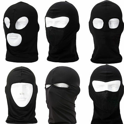 Tactical Balaclava Paintball Cycling Motorcycle Hunting Ski Face Mask MultiStyle