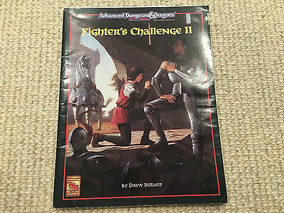 Fighter's Challenge II Advanced Dungeons & Dragons AD&D 2nd edition